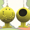 Funky Eco-Friendly KeyChain Bag Dispenser – Mr Happy